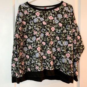 H&M Vintage Floral Sweater